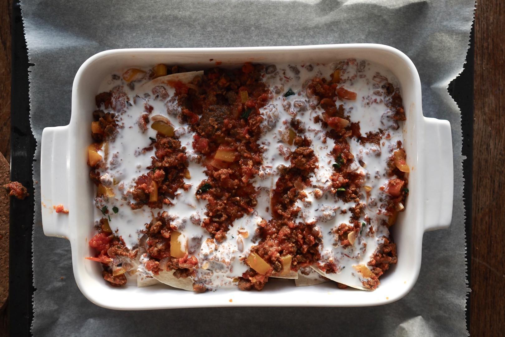härkis® tortilla lasagne